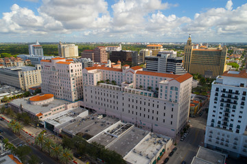 Coral Gables aerial image