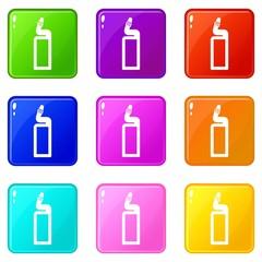 Plastic bottle of drain cleaner set 9