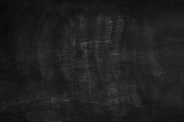 Chalk rubbed out on blackboard background texture