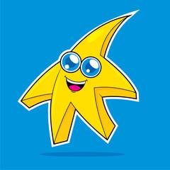 Cute Baby Star Vector