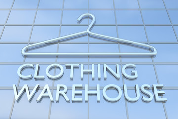 Clothing Warehouse concept