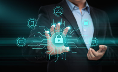 Data protection Cyber Security Privacy Business Internet Technology Concept
