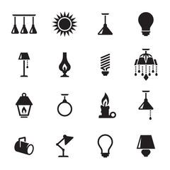 light icons set