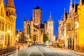 Fotomurales - Gent Ghent Belgium Flanders