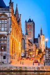 Fototapete - Gent Ghent Belgium Flanders