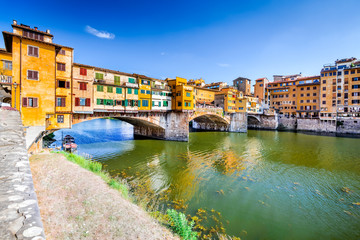 Canvas Prints Florence Ponte Vecchio - Florence, Tuscany