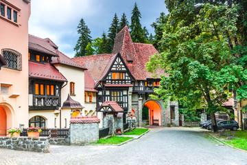 Fotomurales - Sinaia, Romania