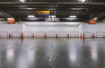 Empty parking place