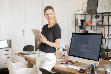 Young professional businesswoman portrait