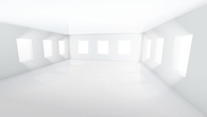 Light Large Empty Room