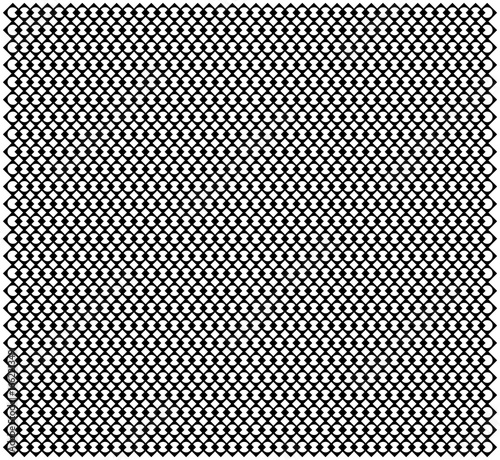 Seamless Line Mesh Lace Weaving pattern  Simple monochrome