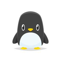Cartoon penguin vector isolated