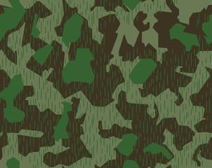 Splittertarnmuster Camouflage Splinter Camo Pattern WWII German
