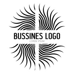 Isolated business logo