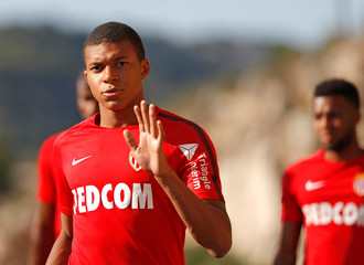 Football Soccer - AS Monaco - Training - French Ligue 1