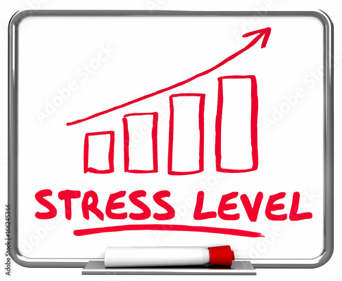 stress level Blood pressure increases with stress, and a high blood pressure level is one of the main risk factors for a cardiovascular problem heart disease is the leading cause of death in the united states.