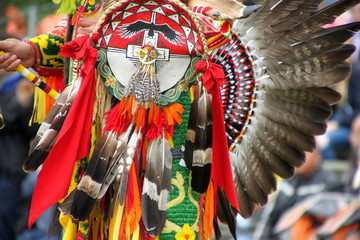 indian america decoration costume, canada