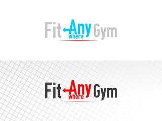 Gym Logotype Design Concept