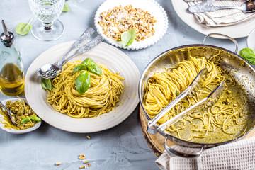 Spagetti Pesto