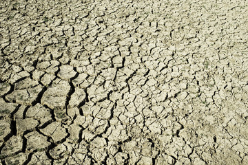 Cracked Earth Global Warming Background
