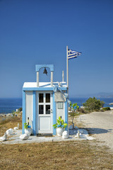 Little chapel in Milos in Greece