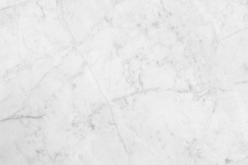White marble pattern texture background.