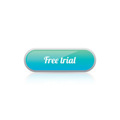 Glossy Free Trial Button