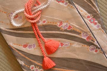 着物の帯 帯締め