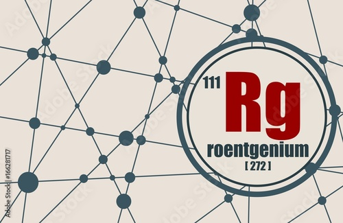 Roentgenium chemical element sign with atomic number and atomic roentgenium chemical element sign with atomic number and atomic weight chemical element of periodic urtaz Gallery