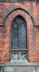 Window of the cathedral, Riga, Latvia