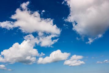dramatic sky with dynamic cloud arrangement