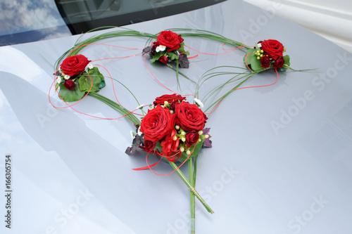 Brautstrauss Und Hochzeits Deko Blumen Stock Photo And Royalty Free