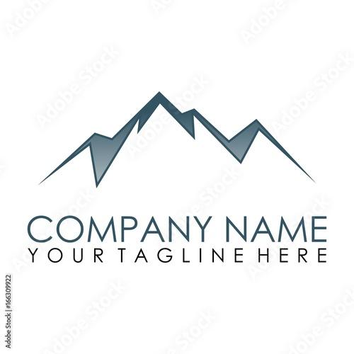 mountain logo vector stock image and royalty free vector files on