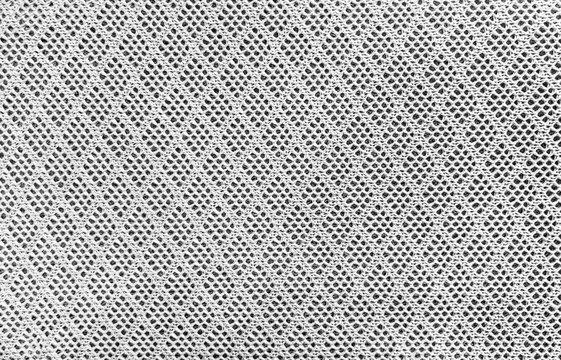 Grey color mesh fabric textile texture background,lattice sport wear textured