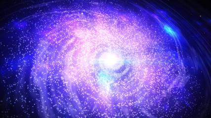 Spiral galaxy of Milky Way