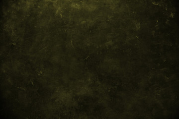 close up on dark yellow  wall background or texture