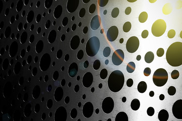 Texture of stainless steel, modern look
