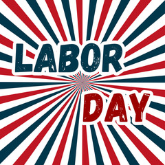 Labor Day, Poster or Banner Happy Labor Day