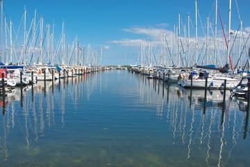 Schleswig-Holstein Yachthafen Heiligenhafen an der Ostsee