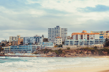 Bondi Beach skyline view