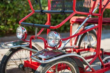Typical Italian Rickshaws