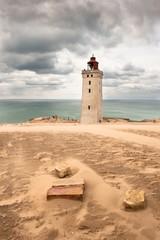 Fototapete - Rubjerg Knude lighthouse
