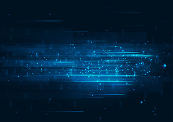 speed technology Fototapete
