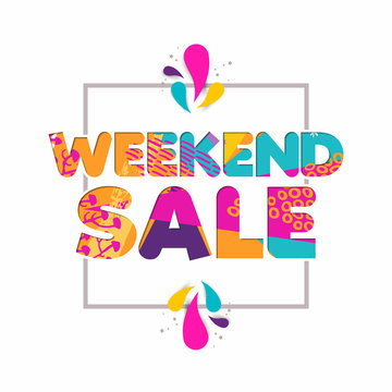 Special weekend sale quote for business discount