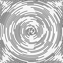 Abstract background with radial lines. Circle with lines. Vector