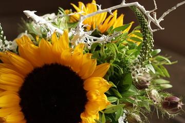 .......Pflanzen, Blumen, Blumenstrauß, Sonnenblumen, Freude