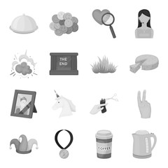 Security, sport, trade and other web icon in monochrome style.Service, electrical appliance, ritual icons in set collection.