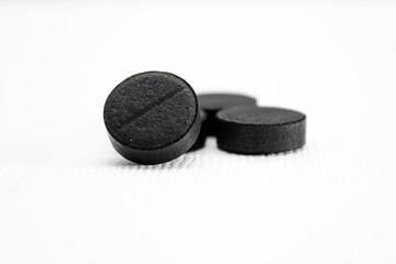 black on white pills