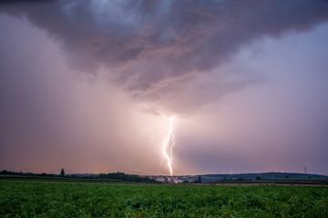 Gewitter, Unwetter, Sturm, Blitz und Donner