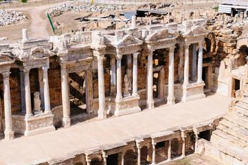 Roman ampitheatre at Hieropolis, Pamakkule, Turkey
